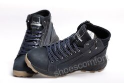 clarks shoemakers temno sinie